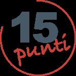 15 punti